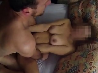 Cum as lube on amateur wife