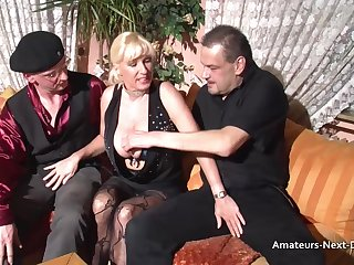 Busty matures threesome more bi guys