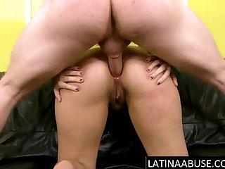 Busty thick latina pest fucked hard