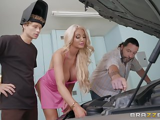 oral and regular sex by the wheels is something that Nicolette Shea adores