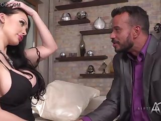 Aletta Ocean takes crimson in the rear end - alettAOceanLive