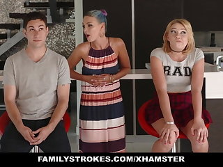 FamilyStrokes - Scavenger Hunt with sis turns prurient