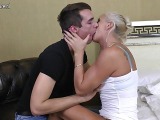 Real mature dam fucked hard by say no to plaything boy