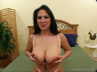 Reina Leone in a huge detect ride coupled with naughty blowjob action