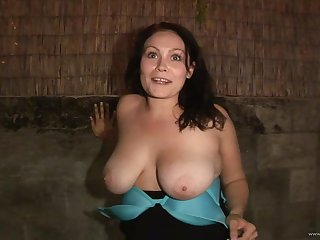 Cute dour babe shows of the brush surprising lumps and humps in disparage