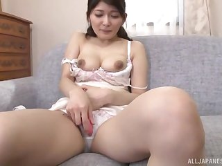 Close on every side video of Sonozaki Eri stripping and having boring sexual relations